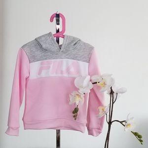 NWOT FiLA Hooded Sweatshirt S(4) Girl